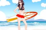 Igre odjevanja surferice Igrice